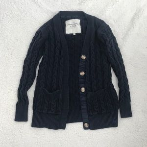 Abercrombie and Fitch button up sweater